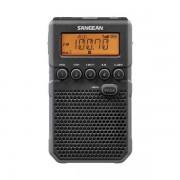 Digitális szintézeres zsebrádió hangszóróval, fülhallgatóval, DT-800