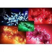 Diwali Lighting Decoration (Set Of 5) Rice Light Decoration Lighting for Diwali Light Christmas 9 Meter