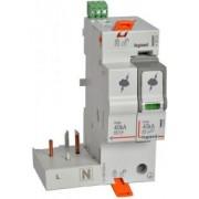 Túlfeszültség-Levezető Kiegészítő Modullal T2 40Ka 1P+N Nr +Sd 412266-Legrand