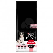 Pro Plan Puppy Medium Sensitive Skin Optiderma 12 kg