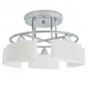 vidaXL Mennyezeti lámpa ellipszoid üvegburával 200 W-os E14-es izzó