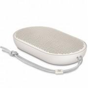 Тонколона Bang & Olufsen Beoplay Speaker P2, 1.0, 2x 50W, Bluetooth, 1x USB-C, микрофон, син, до 10 часа непрекъснато работа, бежова