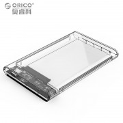 ORICO 2159C3-G2 Transparent 10Gbps Hard Drive Enclosure with Stand for 2.5inch HDD / SSD