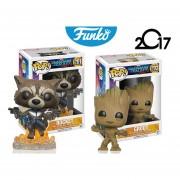 Rocket Y Groot Funko Pop Pelicula Guardians Of The Galaxy ENVIO GRATIS