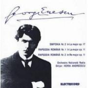 George Enescu - Simfonia nr 2 in La major ,op 17/ Rapsodia Romana in La major ,op 11 nr 1 / Rapsodia Romana in Re major ,op 11 nr 2 (CD)