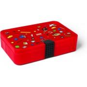 Set van 2 - Sorteerkoffer Iconic, Rood - LEGO