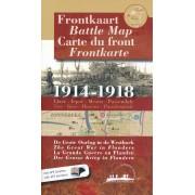 Historische Kaart Frontkaart 1914 - 1918 De Grote Oorlog in de Westhoek | Aquaterra