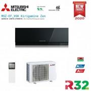 Mitsubishi Electric Inverter Kirigamine Zen Msz-Ef50ve3b Black 18000 Btu
