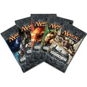 5 (Five) Packs of Magic the Gathering - MTG: 2012 Core Set M12 Booster Pack L...