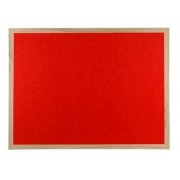 Polycolour Wooden Framed Noticeboard 1200x1200mm