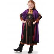 Disfarce clássico Anna Frozen 2 menina - 5 - 6 anos (105/116 cm)