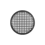 Griglia per altoparlanti professionali con diametro da 130 mm. Modello: Monacor MZF-8628.