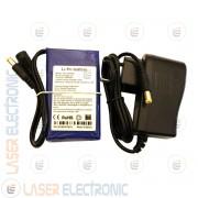 Batteria a Polimeri di Litio LiPo 12V 4500mA 90x51x19mm con Charger 12.6V 1.0AH