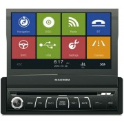 "Player DVD auto Macrom M-DVD6560, 4x45W, Touchscreen 7"", USB, Bluetooth, Navigatie GPS"