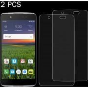 2 PCS Para Alcatel Idol 4 0.26mm 9h Dureza Superficial 2.5D A Prueba De Explosion Tempered Glass Screen Film