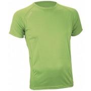 Avento Sport Shirt Heren Lime Maat S