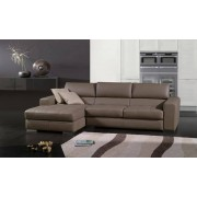 items-france PAMPELUNE - Canape cuir 4 places 275x157x86