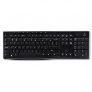 Logitech Wireless Keyboard K270 Preto