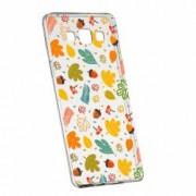 Husa Silicon Transparent Slim Toamna 108 Samsung Galaxy Core Prime
