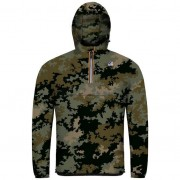K-Way Vestes printemps/été unisexe Capuche Regularfit Paquetable Le Vrai Léon Graphic Camouflage - XS