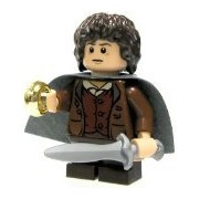 Lego Frodo Minifigure (New 2012 Loose Figure Only)