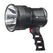 Lanterna reincarcabila MacTronic X-Pistol cu 2 acumulatori Li-Ion 18650 zoom si powerbank incarcare micro USB