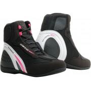 Dainese Motorshoe D1 D-WP impermeable Señoras Zapatos de Motocicleta