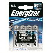 Energizer Ultimate LITHIUM L91 LR6, AA, MN1500 - комплект 4 батерии