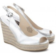 Nine West Women SILVER Wedges