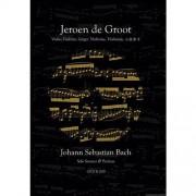 Solo sonates & partita's van J.S. Bach - Johann Sebastian Bach en Jeroen de Groot