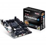 Tarjeta Madre Gigabyte Micro ATX GA-F2A68HM-H AMD A68H HDMI USB 2.0/3.0 64GB DDR3 Para AMD