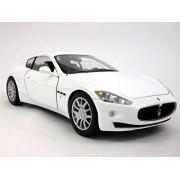 Maserati Gran Turismo (Gran Turismo) 1/24 Scale Diecast Metal Model White