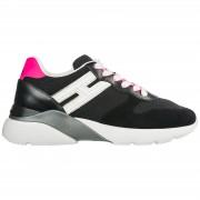 Hogan Scarpe sneakers donna camoscio active one