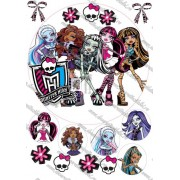 Imagine comestibila Monster High