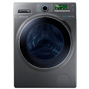 Samsung 12 Kg Front Loading Automatic Washing Machine (WW12H8420EX Inox Grey)