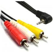 Kabel Mini Jack - 3*Cinch 1,5m