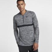 Haut de golfà demi-zip Nike Dri-FIT pour Homme - Gris