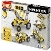 Конструктор Енджино Изобретател - 16 модела индустриални машини - Engino, 150016
