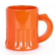 Merkloos 10x Oranje shotglaasjes 2,5 cl
