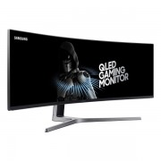 "Samsung ívelt VA LED Monitor 48,9"" LC49HG90DMUXEN, 144Hz, 3840x1080, 32:9, 3000:1, 300cd/m2, 1ms, HDMI, DisplayPort, HDR"