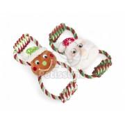Jucărie de Crăciun pentru câini Camon - cu sfoară 1 buc figuri mixte (AH922/L)