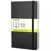 Moleskine Hard Cover Large Notebook Plain 240 Pages Black