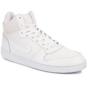 Nike Men's Court Borough Mid White Sports Shoes