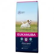 Eukanuba Active Adult Small Breed poulet pour chien 2 x 15 kg