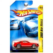 2008 New Models #1 07 Shelby GT-500 Ford Mustang Red #2008-1 Collectible Collector Car Mattel Hot Wheels