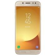 "Telefon Mobil Samsung Galaxy J5 Pro (2017), Procesor Octa-Core 1.6GHz, Super AMOLED Capacitive touchscreen 5.2"", 3GB RAM, 32GB Flash, 13MP, Wi-Fi, 4G, Dual Sim, Android (Auriu) + Cartela SIM Orange PrePay, 6 euro credit, 4 GB internet 4G, 2,000 minute nat"