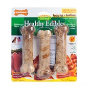 NYLABONE HEALTHY EDIBLES (Variety Pack) (Regular) 3 Bones