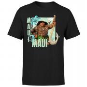 Moana Maui Men's T-Shirt - Black - S - Black