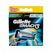 Gillette Mach3 6 ks náhradní břit M