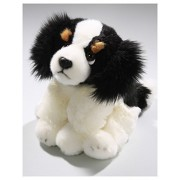 Stuffed Animal King Charles Spaniel 8.5 inches, 22cm, Plush Toy, Soft Toy